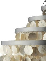 themed chandelier lighting project week with creative oyster shell chandelier