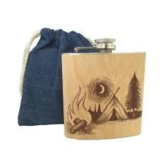 Wooden Flasks Spitfire Flasks