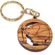 wooden key chain olive wood chain 3 8cm cm or 1 5 olive wood key chains