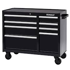 husky 27 in 8 drawer tool chest and cabinet set shop kobalt 40 75 in w x 34 in h 8 drawer ball bearing steel tool
