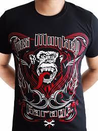 gas monkey garage tattoo keyline mens tshirt touch of impression