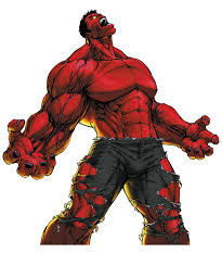 red hulk buscar google comic art red hulk