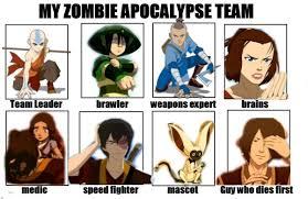 Zombie Team Meme - florairmatylee s zombie apocalypse team by florairmatylee on