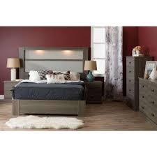 Gray Nightstands South Shore Gray Nightstands Bedroom Furniture The Home Depot