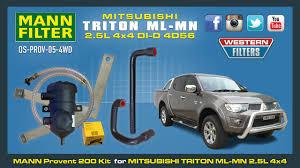 mitsubishi triton 2009 mitsubishi triton ml mn 2 5 ltr provent oil catch can kit 4x4 130