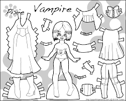 Halloween Pictures Printable Happy Halloween Have A Vampire Printable Paper Doll U2022 Paper Thin