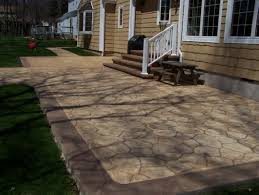 Backyard Stamped Concrete Ideas Stamped Concrete Ideas Patios Mesmerizing Backyard Stamped