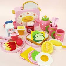 jeux de cuisine de aux fraises bébé jouets fraise toast grille jouets en bois jeux de