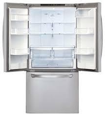 Stainless Steel Refrigerator French Door Bottom Freezer - samsung 18 cu ft french door refrigerator stainless steel