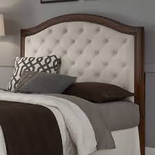 upholstered headboard mahogany cherry wood camelback platform upholstered headboard mahogany cherry wood camelback platform design off white