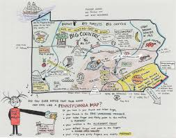 Map Pennsylvania Sketch Us Your Personal Map Of Pennsylvania Wpsu