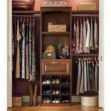 wood closet organizer kits systems organizers the home depot 18