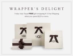 ugg australia cyber monday sale ugg australia a cyber monday exclusive free gift wrapping milled