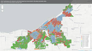 Brooklyn Neighborhood Map At U0026t Has Historically Excluded Cleveland U0027s Poorest Neighborhoods