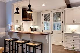 Under Counter Corbels Seagrass Counter Stools Transitional Kitchen Blake Shaw Homes