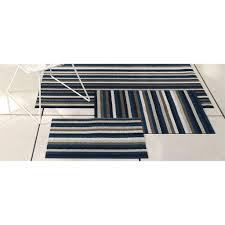 Chilewich Doormats Chilewich Indoor Outdoor Shag Even Stripe Floor Mat U2014 In 2 Colors
