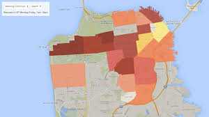 San Francisco Traffic Map by What U0027s The Fare