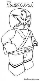printable lego power rangers samurai coloring pages superheroes