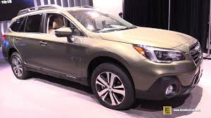 tan subaru outback 2018 subaru outback exterior and interior walkaround 2017 new