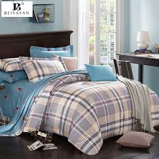 Polo Bed Sets Plaid Duvet Cover Bedding Set Play Polo Bed Sheet