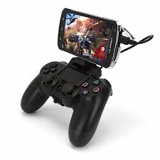 dualshock 4 android ps4 dualshock 4 smartphone attachment clip released letting you
