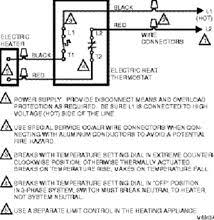 honeywell baseboard heater thermostat wiring diagram circuit and