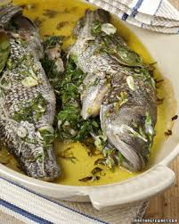 Seafood Recipes For Entertaining Martha by Whole Roasted Sea Bass Recipe U0026 Video Martha Stewart