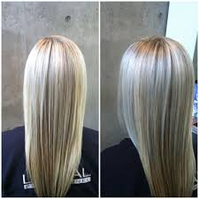 hair platinum highlights hair with highlights