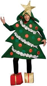 christmas tree costume rubie s costume co men s christmas tree jumper with