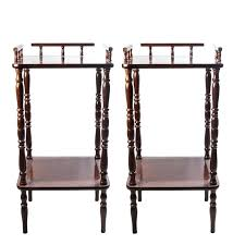 antique spindle leg side table side table spindle leg side table two tier tables antique spindle
