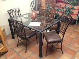 Rod Iron Dining Room Set Wrought Iron Kitchen Table And Chairs Wrought Iron Dining Table