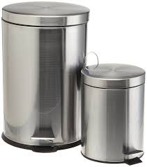 amazon com prime pacific pro cook stainless steel trash cans set