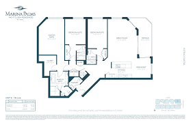 Parkland Residences Floor Plan by Marina Palms Blackstone International Realty