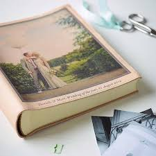personalized leather photo album 21 best wedding photo albums images on wedding