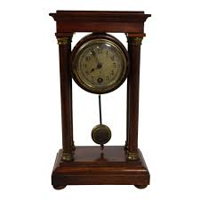 awesome clocks ideas awesome small antique white end table antique small table