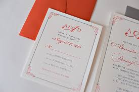 coral wedding invitations designs coral and grey wedding invitations coral wedding