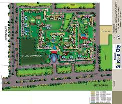 Amrapali Silicon City Floor Plan Overview Amrapali Silicon City Penthouse Enchante India At