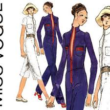 jumpsuit stitching pattern 1950s full skirt vintage sewing pattern from cynicalgirl on etsy