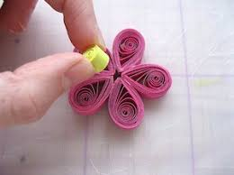 tutorial quilling flower quilled flower bookmark tutorial splitcoaststers