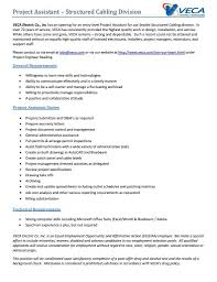 Document Control Resume Sample Veca Electric U0026 Technologies Linkedin