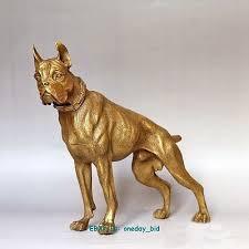 boxer dog statue aliexpress com buy big large nice large bronze boxer dog figure