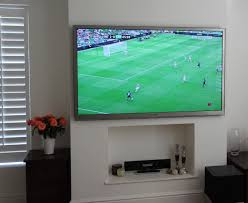wall mounted tv hiding cables tv gallery master av services