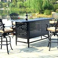 patio furniture bar table outdoors patio furniture tables bars