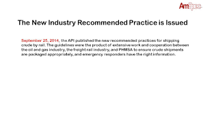 regulations and proper hazard classification of crude ppt download