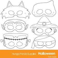25 halloween masks ideas printable halloween