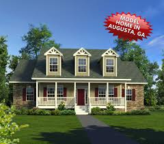 Large Front Porch House Plans by Floor Plans Trinity Custom Homes Georgia