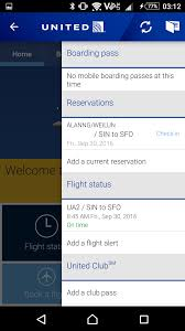 mobile application united airlines u2013 have cards will travel