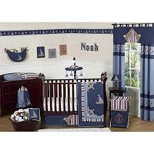 Nautical Crib Bedding Sweet Jojo Designs Nautical Nights Crib Bedding Collection Bed
