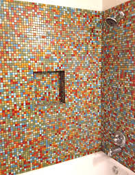 brio number nine blend glass mosaic tile 3 4