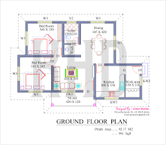 floor plans for two bedroom homes two bedroom house plans kerala style ideas